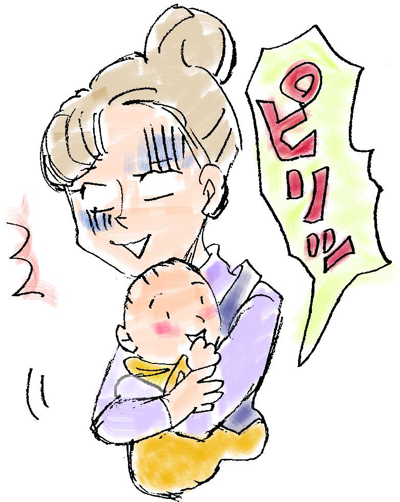 痛みのある産後の女性