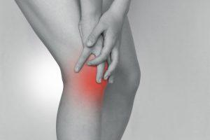 膝が痛い写真